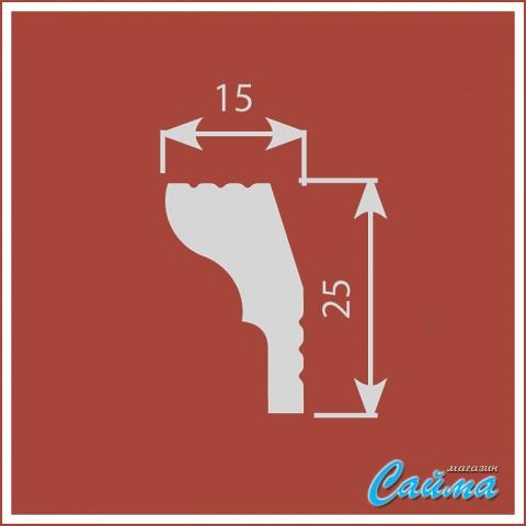 Карниз CoSca К010 (25х14х2000)