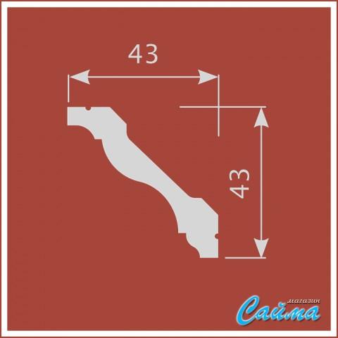 Карниз CoSca К017 (43х43х2000)