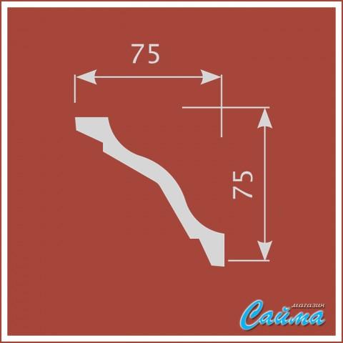 Карниз CoSca К028 (75х75х2000)