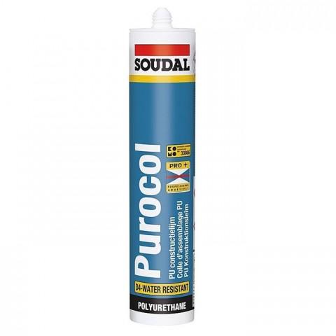Клей стыковочный PUROCOL (Cosca) конструкционный, бесцветный, 15x300 мл.