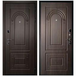 Входная Дверь Дверной Континент Флоренция Темный орех