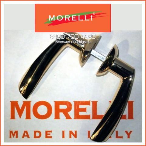 Дверные ручки Morelli MH-01 GP Цвет Золото