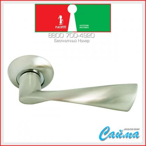 RAP 1 SN/CP Белый никель / Хром - Дверные Ручки RUCETTI