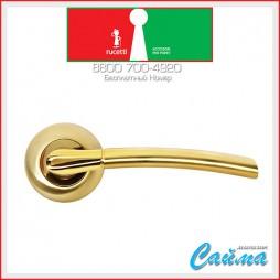 RAP 6 SG/GP Матовое золото / Золото - Дверные Ручки RUCETTI