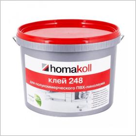 Homakoll 248 (4 кг.) Клей для коммерческого линолеума, водно-дисперсионный