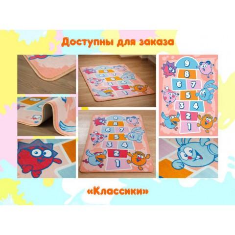 """Детский игровой коврик Вельвет Kids """"Классики"""""""