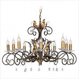 Люстра Elstead LIGHTING Amarilli AML10 BRONZE/GOLD