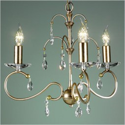 Люстра Elstead LIGHTING Darcy DY3 S/GP (Silver/Gold Patina)