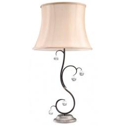 Настольная лампа Elstead LIGHTING Lunetta LUN/TL BLK/SIL (Black/Silver)