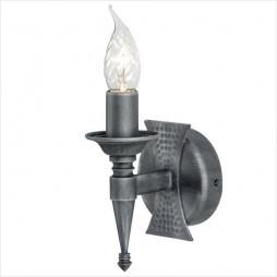 Настенный светильник Бра Elstead LIGHTING Saxon SAX1 BKL/SIL (Чёрное Серебро)