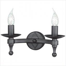 Светильник настенный Бра Elstead Lighting Warwick WR2 GR (Чёрный графит)