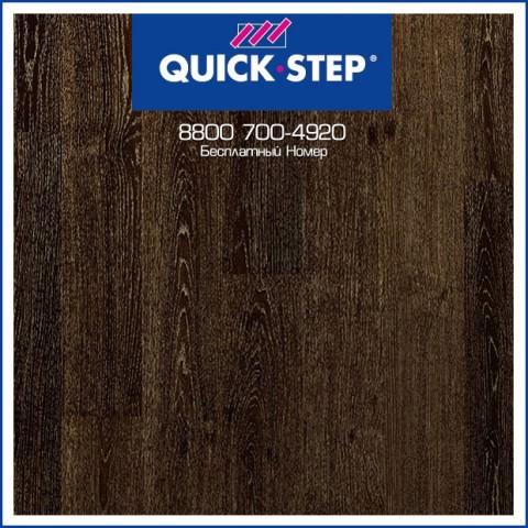 Дуб Черный Лакированный Золотистый UC3489 Ламинат Quick-Step Desire