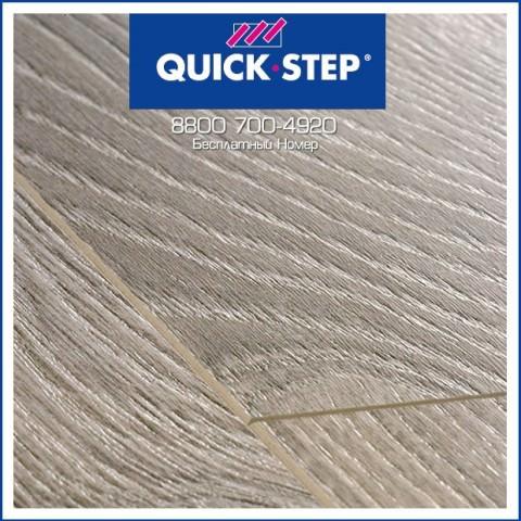 Ламинат Quick Step Perspective Доска Дуба Светло-Серого Старинного UF1406