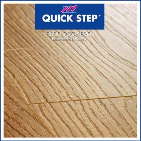 Ламинат Quick Step Perspective Доска Дуба Белого Светлая UF1491