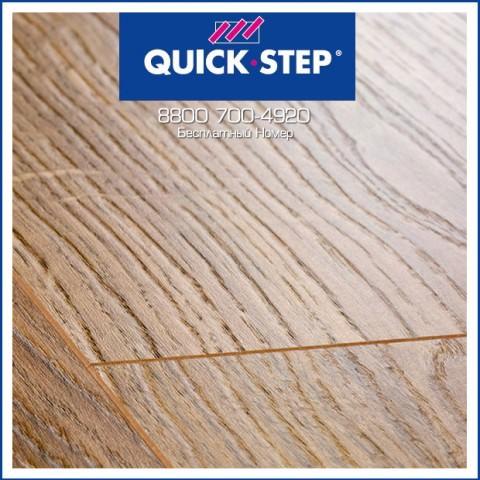 Ламинат Quick Step Perspective Доска Дуба Белого Медиум UF1492