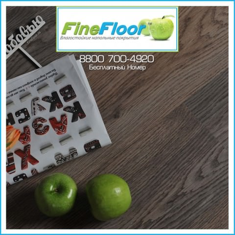 ПВХ-Плитка FineFloor Licht Дуб Борда FF-1333