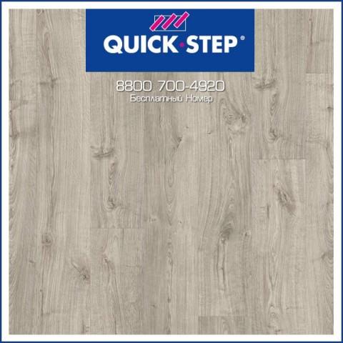 ПВХ-Плитка Quick-Step Pulse Click Дуб Осенний Теплый Серый PUCL40089