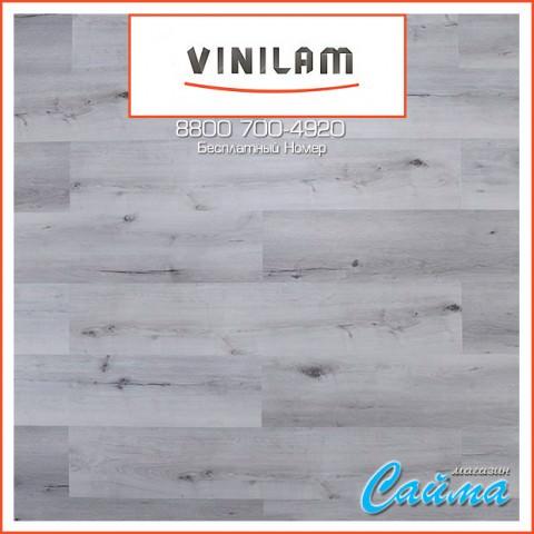 Виниловая ПВХ-Плитка Vinilam Гибрид + Пробка 6,5 мм. Дуб Гент 10-064