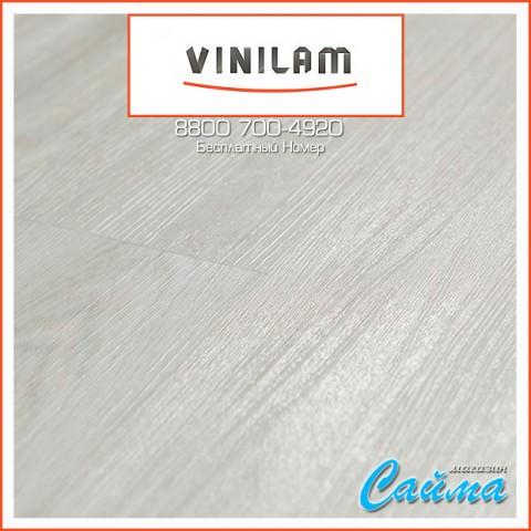Виниловая ПВХ-Плитка Vinilam Гибрид + Пробка 6,5 мм. Дуб Линтер 10-077