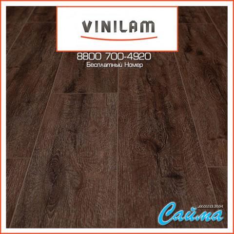 Виниловая ПВХ-Плитка Vinilam Гибрид + Пробка 6,5 мм. Дуб Лир 10-085V