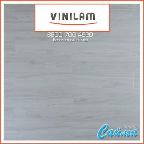 Виниловая ПВХ-Плитка Vinilam Клик 4 мм. Дуб Бремен 254-1