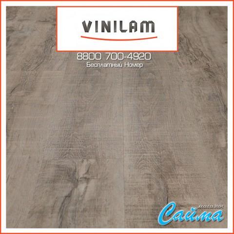 Виниловая ПВХ-Плитка Vinilam Клик 4 мм. Дуб Эссен 61222