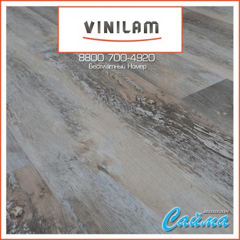 Виниловая ПВХ-Плитка Vinilam Клик 4 мм. Дуб Лейпциг 64555