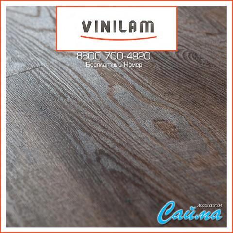 Виниловая ПВХ-Плитка Vinilam Клик 4 мм. Дуб Майнц 8113-7