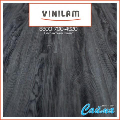 Виниловая ПВХ-Плитка Vinilam Клик 4 мм. Дуб Котбус 8124-7