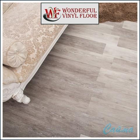 Виниловая ПВХ-Плитка Wonderful Vinyl Floor (Natural Relief) DE-1435-19 Серая Гавань