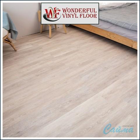 Виниловая ПВХ-Плитка Wonderful Vinyl Floor (Natural Relief) DE-1505-19 Снежный