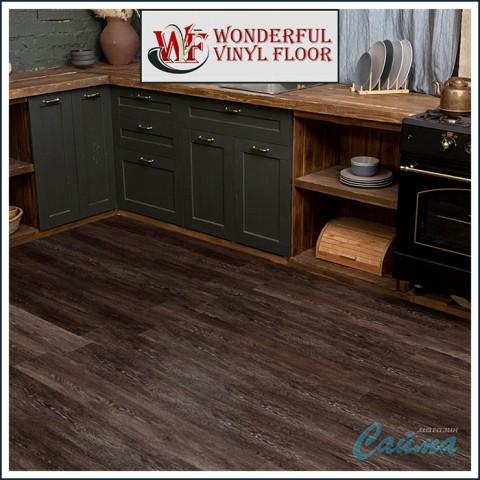 Виниловая ПВХ-Плитка Wonderful Vinyl Floor (Natural Relief) DE-4372-19 Палисандр