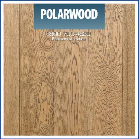 Паркетная Доска Polarwood Дуб Сириус Премиум Коричневое Масло 188