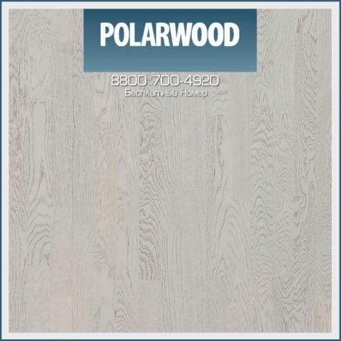Паркетная Доска Polarwood Дуб Милки Вэй трехполосный