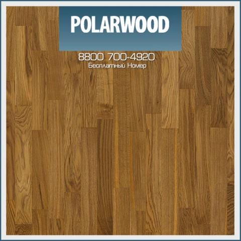 Паркетная Доска Polarwood Дуб Тоффи мат