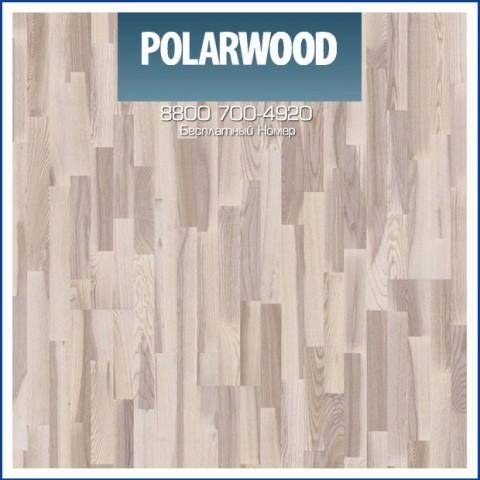 Паркетная Доска Polarwood Ясень Ливинг (Living)