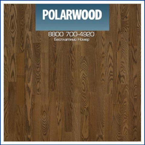 Паркетная Доска Polarwood Ясень Луна масло