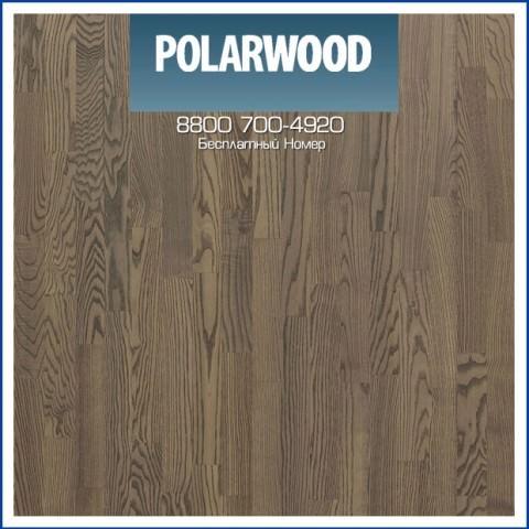 Паркетная Доска Polarwood Ясень Сатурн масло