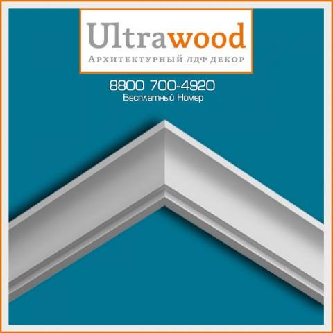 Карниз UltraWood CR 0014 (31х31х2440)