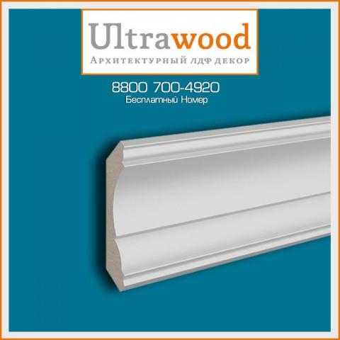 Карниз UltraWood CR 0016 (67,5х67,5х2440)