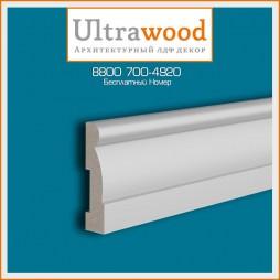 Плинтус UltraWood Base 0020 (15х60х2440)