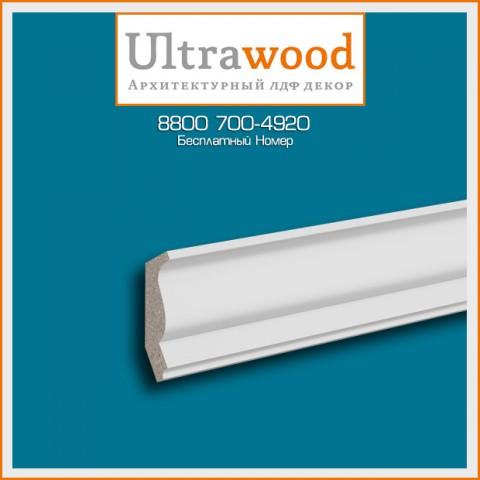 Карниз UltraWood CR 0025 (40х25,4х2440)