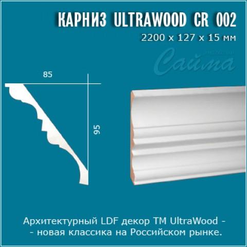 Карниз UltraWood CR 002 (95х85х2440)