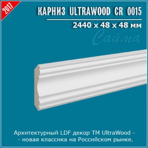 Карниз UltraWood CR 0015 (48х48х2440)
