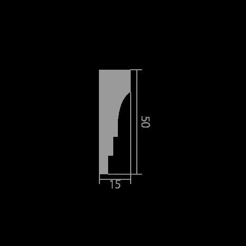 Карниз UltraWood CR 0027 (50х15х2440)