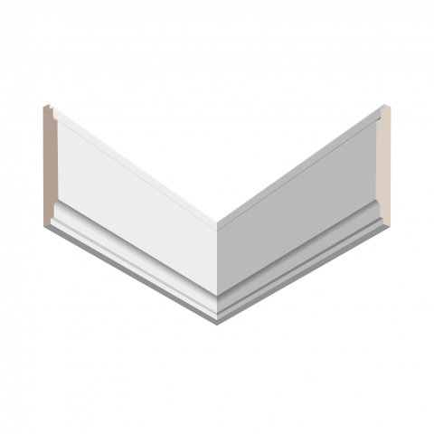 Молдинг UltraWood U 016 (12х90х2440)