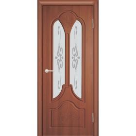 Межкомнатная Дверь (ЧФД) Александрия Стекло Белое