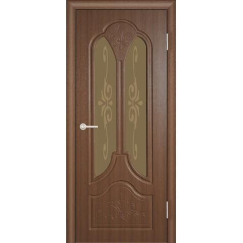 Межкомнатная Дверь (ЧФД) Александрия Стекло Бронза