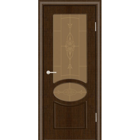Межкомнатная Дверь (ЧФД) Алина Стекло Бронза