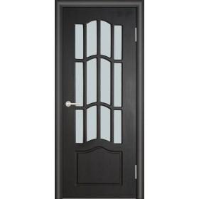 Межкомнатная Дверь (ЧФД) Ампир Стекло Белое